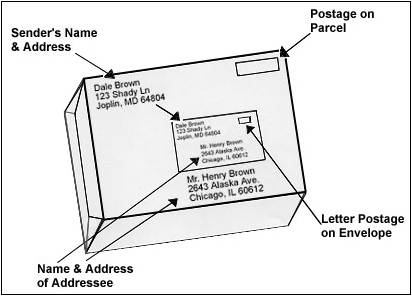 Address for success facilities division for Package address label template